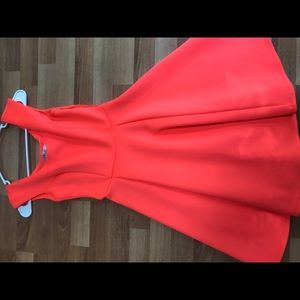 NWOT Flared Neon Pink Milly Dress